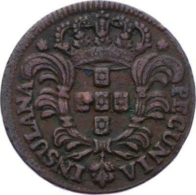 O2110 Portugal Jose I of Portugal 5 Reis 1750 ->Make offer