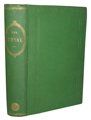 1868 THE TRIAL Charlotte Younge VICTORIAN WOMEN'S FICTION Literature Illustrated