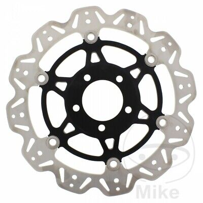 EBC Front Brake Disc Vee Rotor Black Suzuki GS 500 U 2004
