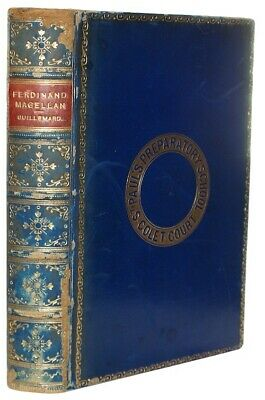 1890 LIFE OF FERDINAND MAGELLAN Exploration CIRCUMNAVIGATION OF THE GLOBE Travel