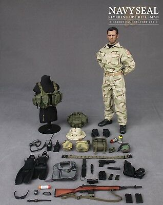 VBSS Team Leader-Chair Figure 1//6 Scale-DAMTOYS Action Figures complète