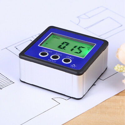 LCD Digital Protractor Inclinometer Bevel Angle Gauge Magnet Base Gracious