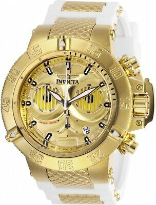 Invicta 26242 Star Wars Men's 50mm Chronograph Gold-Tone Steel Gold Dial Watch
