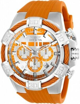 Invicta 26261 Star Wars Men's 52mm Chronograph Stainless Steel Silver Dial Watch