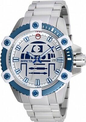 Invicta 26556 Star Wars Men's 48mm Automatic Stainless Steel Silver Dial Watch