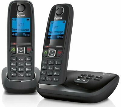 GIGASET Duo AL415A Cordless Phone with Answering Machine - New and Sealed