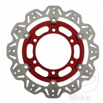 EBC Front Brake Disc Vee Rotor Red Triumph Speed Triple 750 1997