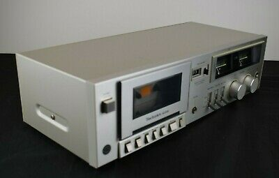 Technics RS-M205 Vintage 1981 Single Compact Cassette Deck *Tested & Working*