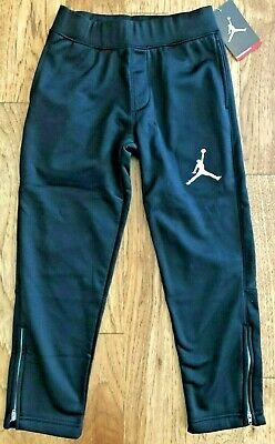 02c1aae54b3f Jordan Boys Therma-FIT Zipper Jogger Basketball Pants Black 853090 Size 5 6  7