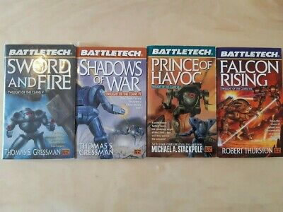 Classic Battletech: Twilight of the Clans 5 - 8 Prince of Havoc Stackpole Lot