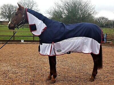 2 In 1 Turnout Fly Shower Proof Rug 4 9