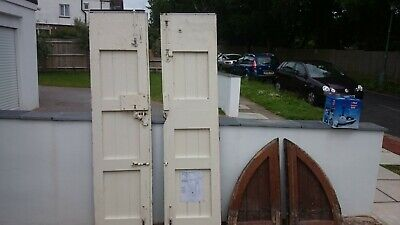 antique architectural salvage church doors lock and furniture wood large double