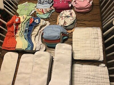 Preloved Cloth Diaper Lot