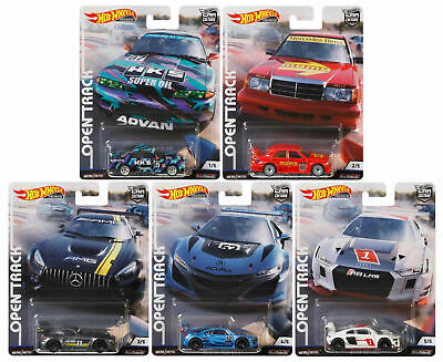 Hot Wheels Car Culture 2019 Open Track Set of 5 - FPY86-956H - In Stock