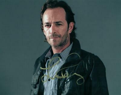 Luke Perry 8x10 Autographed Signed Photo Good Looking and COA