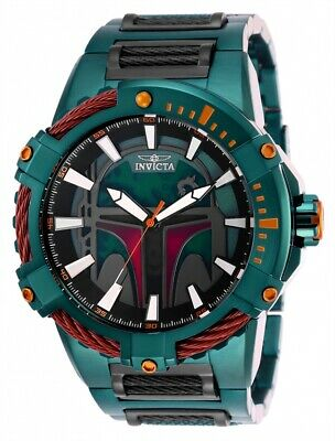Invicta 27116 Star Wars Men's 51mm Automatic Green Tone Green Dial Watch
