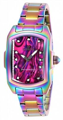Invicta 27199 Lupah Women's 29mm Stainless Steel Iridescent Purple Dial Watch