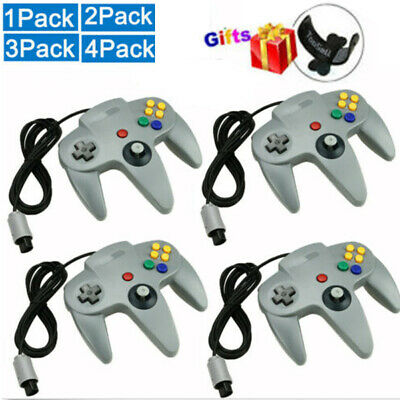 LOT N64 Controller Joystick Gamepad Long Wired for classic Nintendo 64 Console