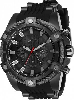 Invicta 27208 Star Wars Men's 52mm Chronograph Black-Tone Black Dial Watch