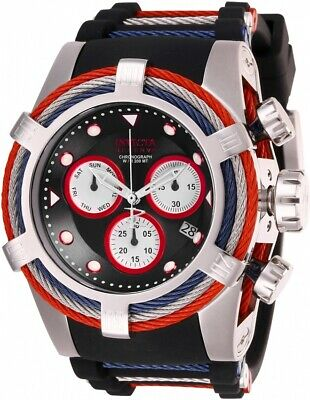 Invicta 27229 Bolt Men's 53mm Chronograph Stainless Steel Black Dial Watch