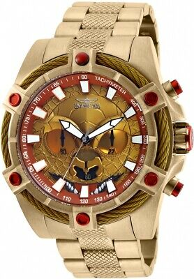 Invicta 27237 Star Wars Men's 52mm Chronograph Gold-Tone Red/Yellow Dial Watch