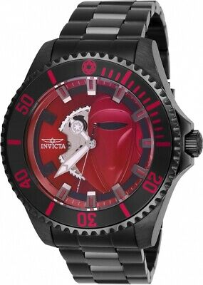 Invicta 27428 Star Wars Men's 47mm Automatic Black-Tone Burgundy Dial Watch