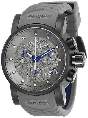 Invicta 28192 S1 Rally Men's 48mm Chronograph Black-Tone Silver Dial Watch