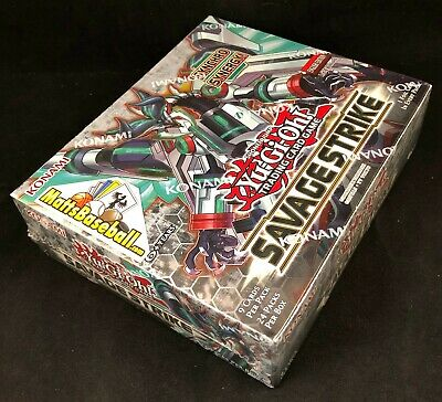 YuGiOh English Savage Strike SAST 1st edition Booster Box FACTORYSEALED 24 PACKS
