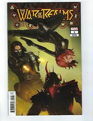 War Of The Realms # 1 Pyeong Jun Park Variant Cover NM Marvel