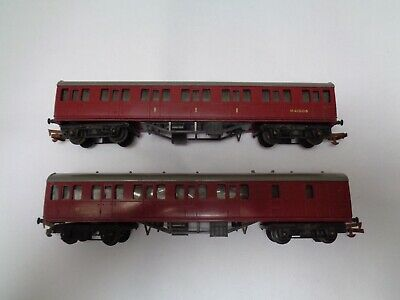 boxed Model Railroads & Trains Hornby Tri-ang R120 Br Maroon Suburban Brake Coach