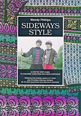 SIDEWAYS STYLE  by Wendy Phillips - 50 Designs for Punchcard & Electronic Mach