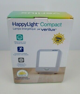 HappyLight Light Therapy Liberty Personal Portable Light Therapy Energy Lamp