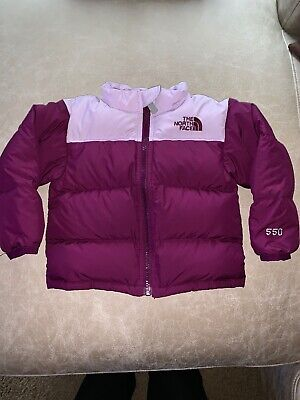 d9a9120eb THE NORTH FACE KIDS INFANT BABY THROWBACK NUPTSE DOWN JACKET NEW sz 12/18  Month