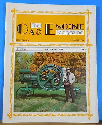 Gas Engine Magazine 1980 July Aug My 1921 John Deere Iron Ox of Taiwan