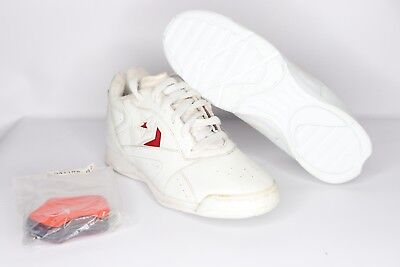 22da908791f Vintage 90s New Converse Women s Size 6 Mega Cheer Low Cheerleader Shoes  White