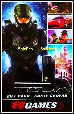 Eb Games 2011 2012 Halo Call Of Duty Mw3 Rpg Shooting Collectible Gift Card