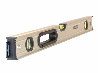 Stanley Tools FatMax Pro Box Beam Spirit Level 3 Vial 60cm STA043624