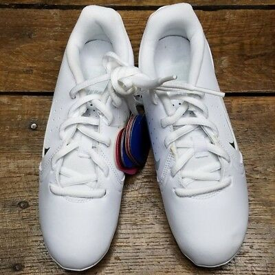 9695add3bacc65 NEW Nike Sideline III 3-Color Insert Girls Cheerleader Shoes SIZE 13 White