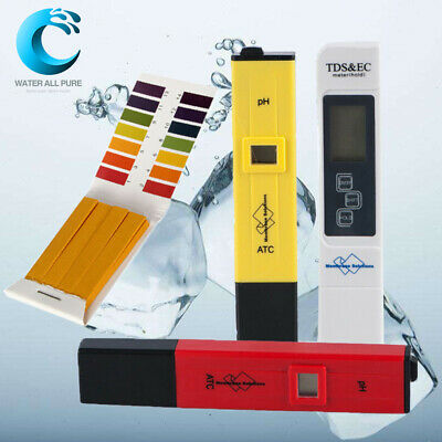 PH Tester TDS&Conductivity Test Meter PH Strips Water Quality Monitoring Tools A