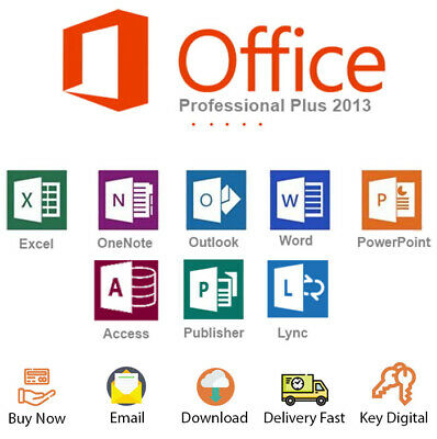 Office 2013 Professional Plus 32-64bit License Key Activation Genuine