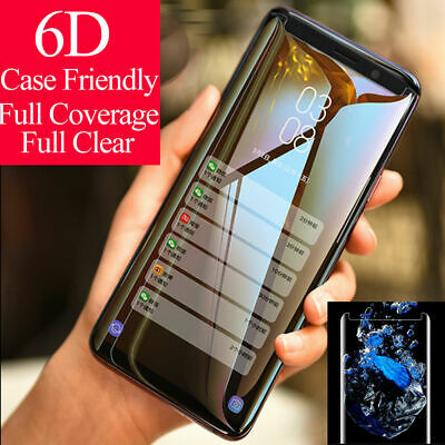 Tempered Glass Screen Protector Clear For Samsung Galaxy S8 S9 Plus Note 8 9 AS