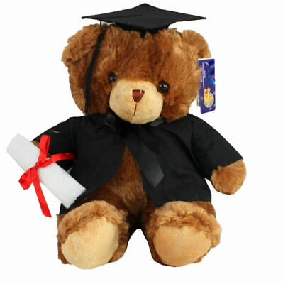 NEW Adorable Graduation Teddy Bear Plush Soft Toy Gift