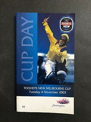Race Book Vrc 2003 Melbourne Cup Meeting, Makybe Diva 1St Win
