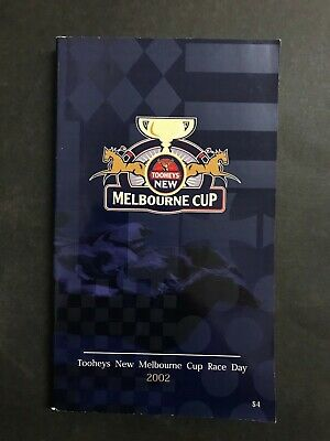 Race Book Vrc 2002 Melbourne Cup Meeting, Media Puzzle Winner