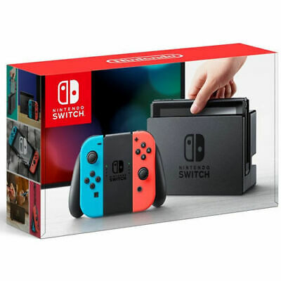 New Nintendo Switch Console Red Blue Joy-Con Game Wireless Controller