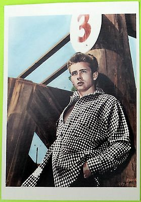 JAMES DEAN post card -- Classic 1950s photograph (4¼ x 6 in.). New; Out of print