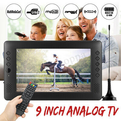 "Portable 9"" Display Analog TV DVB-T2 DVB-T DTV+A Car Reader HD Digital Mobile TV"