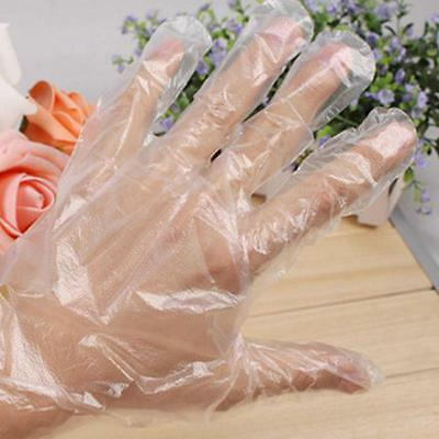 Utility Novelty 100 x Disposable Plastic Gloves Restaurant Home Services BET BE