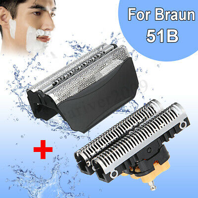 51B Shaver Razor Foil Blade Cutter Replacement For Braun 8000 Series wfs1 wfs2