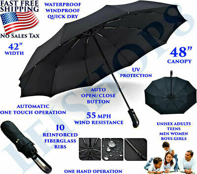 Best Umbrella Collapsible Windproof Foldable Heavy Duty Folding Portable Travel